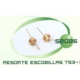 Resorte Escobillas Motor TS