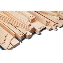 Madera de balsa Liston 12x12mm MI260921