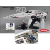 Twinstorm 800 VE36 Readyset Nitro Boat w/GXR15MR Engine