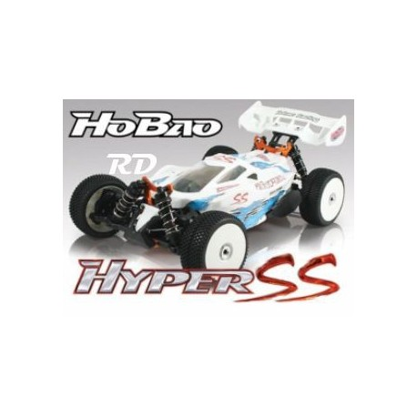 Hyper SS RTR Electrico BRUSHLESS 1/8TT,HYPERSSE