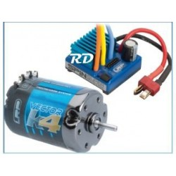 LRP COMBO VECTOR K4 10.5T Y SPIN SUPER BRUSHLESS, LRP80743