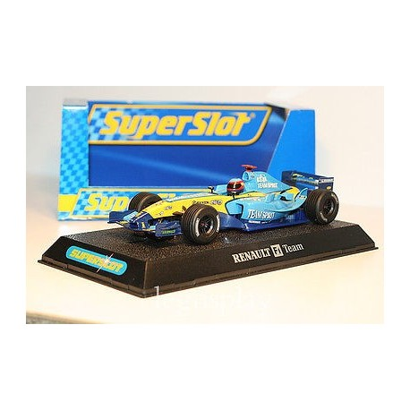 Coche SuperSlot RENAULT R25 F1 ALONSO 2005