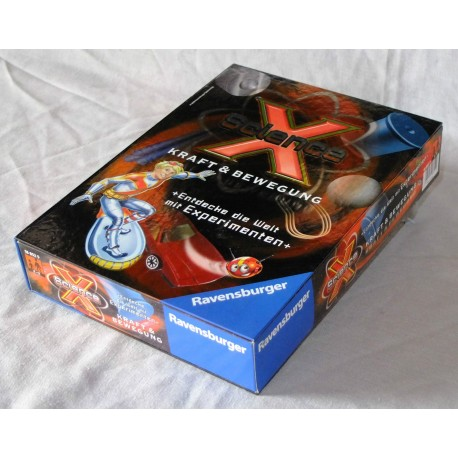 ScienceX fuerza y movimiento Ravensburger 18869
