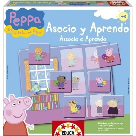 Juego educativo Peppa Pig Educa13654
