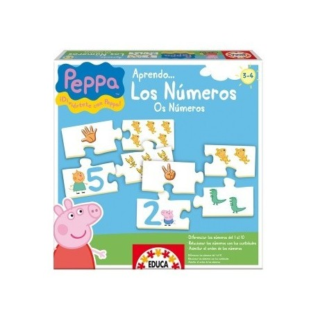 Puzzle educativo Peppa Pig Educa15651
