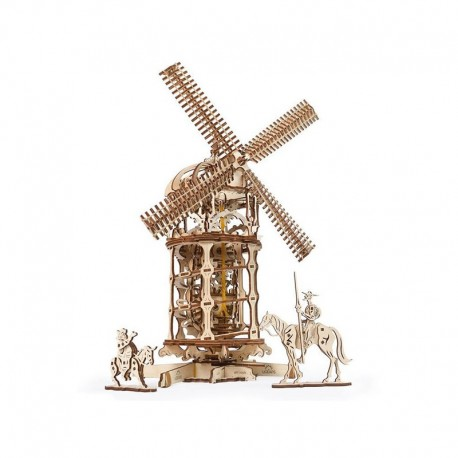 Molino de Viento. Tower Windmill. UGears 70059